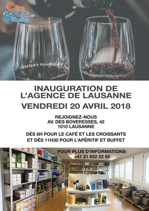 Inauguration Lausanne
